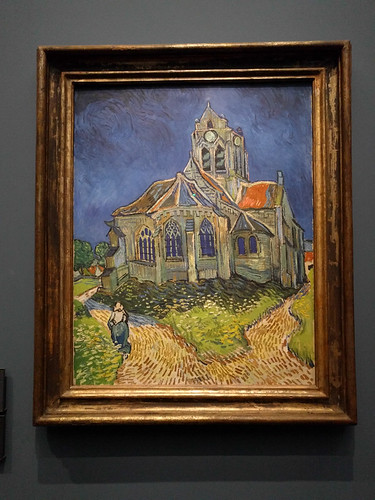 """The Church in Auvers-sur-Oise, View from the Chevet"" by Van Gogh"