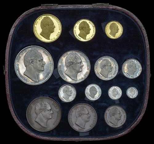 DNW - William IV 1831 proof set (obv)