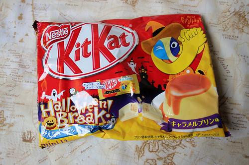Japanese Halloween KitKats