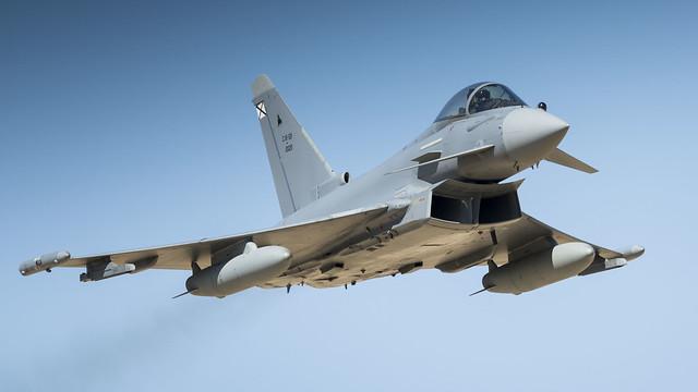 Eurofighter Typhoon (C.16), Nikon D810, AF-S VR Nikkor 500mm f/4G ED