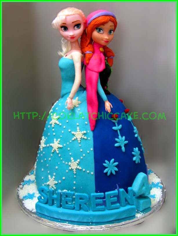 Cake Princes Disney Frozen Shereen
