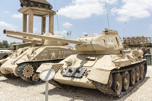 T-34/85 ex-monument