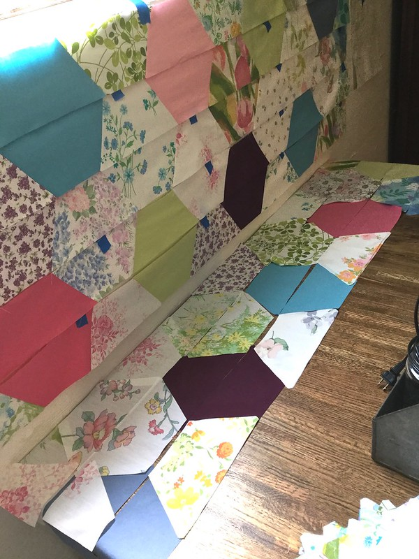 Large Hexigon Quilt