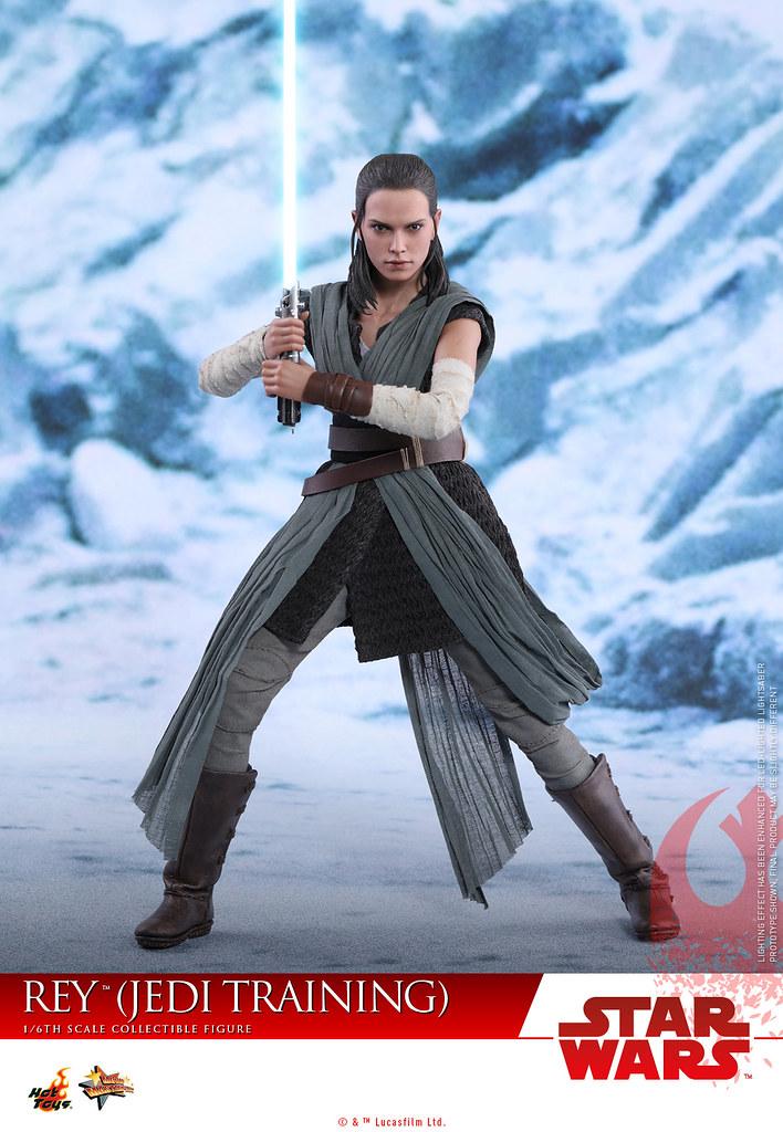 Hot Toys - MMS446 -《星際大戰:最後的絕地武士》1/6 比例 芮(絕地訓練服) Star Wars: The Last Jedi Rey (Jedi Training)