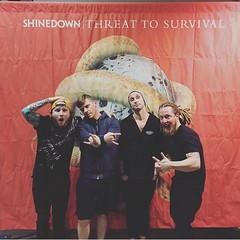 """Good morning to everyone! An """"On This Day"""" 2 years ago #shinedown photo"""