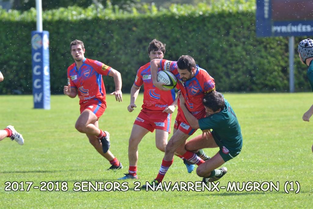2017-2018 SENIORS 2 NAVARRENX - MUGRON