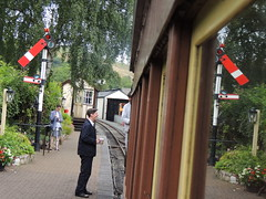 Faces of the Welshpool & Llanfair Light Railway, Wales