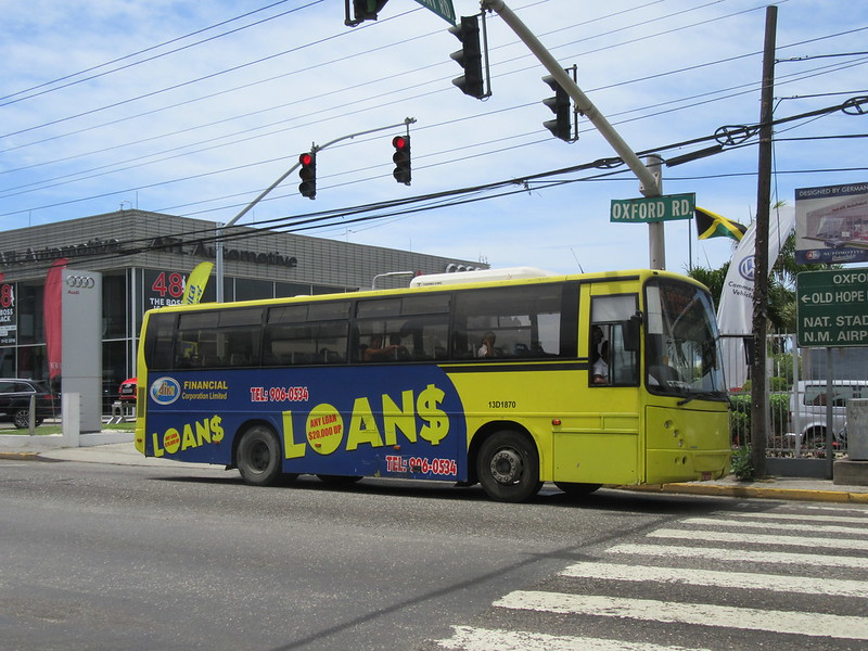 Jamaica Urban Transit Company Volvo VDL Jonckheere B7R