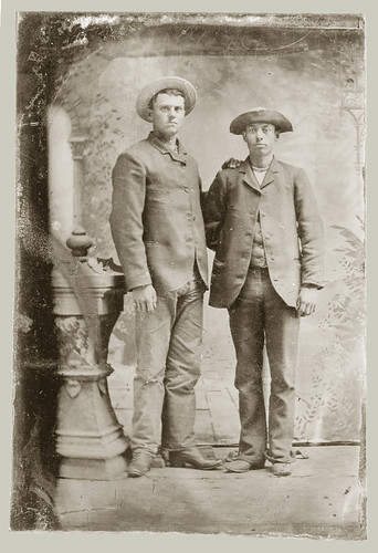 Tintype two men