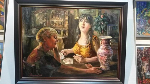 Заробітчани — на картині художника Іваненка