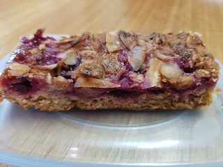 Berry Breakfast Bar from CocoBliss