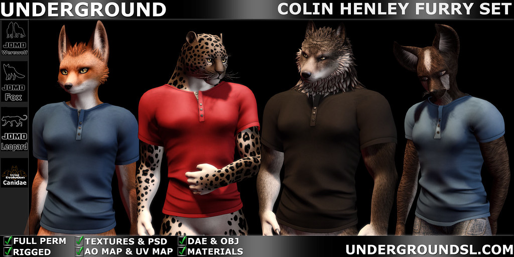 UG MESH COLIN HENLEY PACK FURRY MP