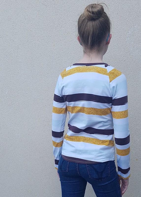 Hey June Camden Raglan in cotton lycra knit from Crafty Mamas Fabrics