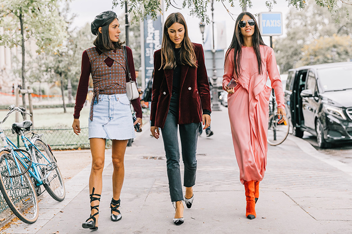 Paris fashion week street style trend style outfit 2017 accessories PFW6