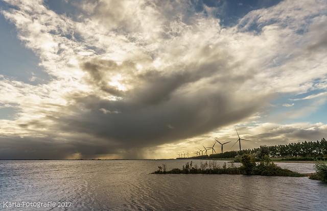 Threatening clouds...