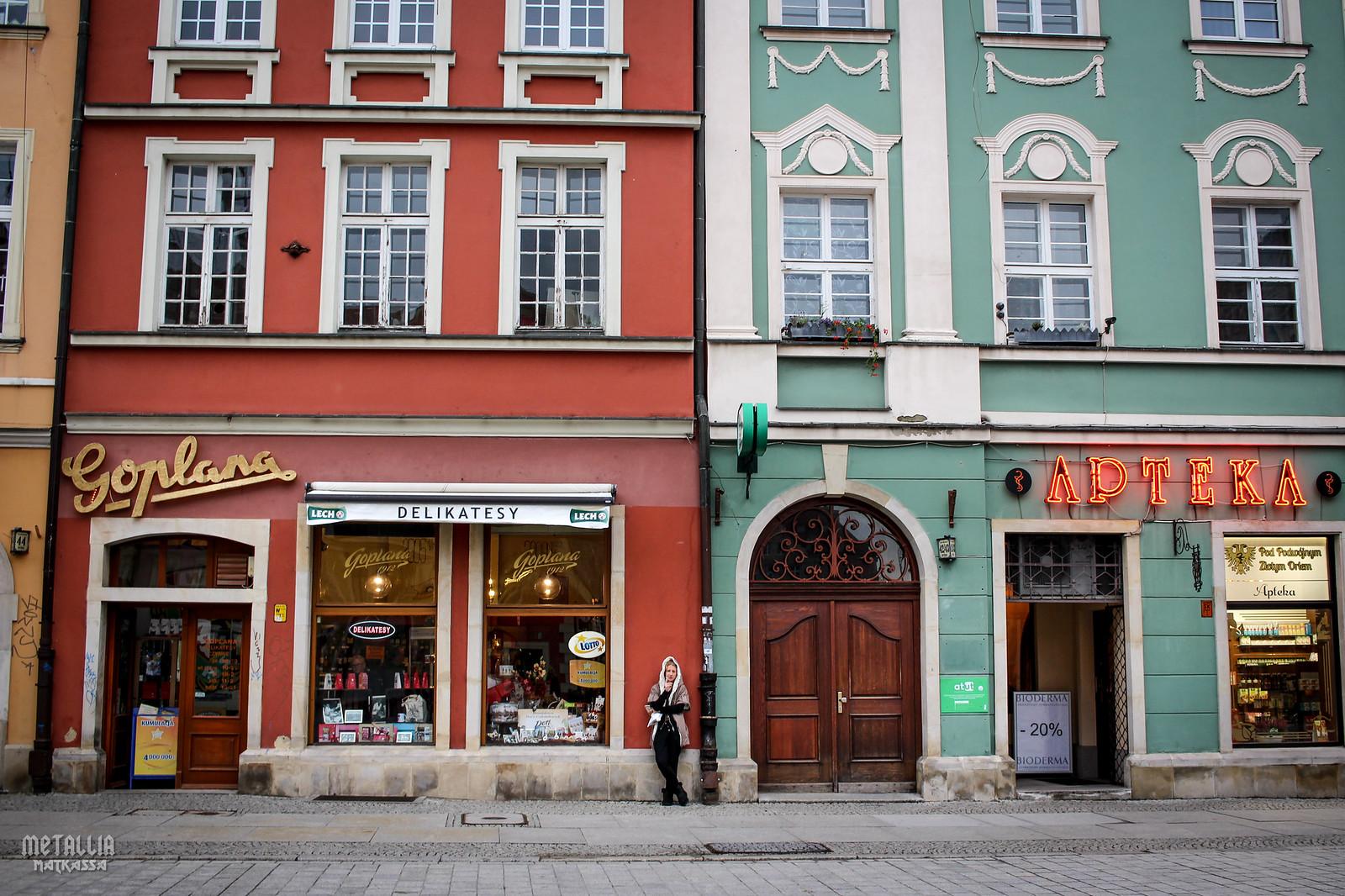 wroclaw old town, wroclaw, poland