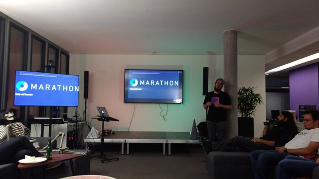 Introduction complete, now @unterstein on Marathon!