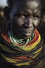 Nyangatom woman. Omo Valley, Ethiopia.
