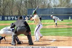 2016-03-25 1696 COLLEGE BASEBALL Western Michigan at Butler