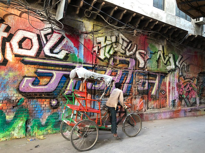 City Monument - The Heartbreaking Vandalisation of Old Delhi's Prettiest Street, Galli Chooriwallan