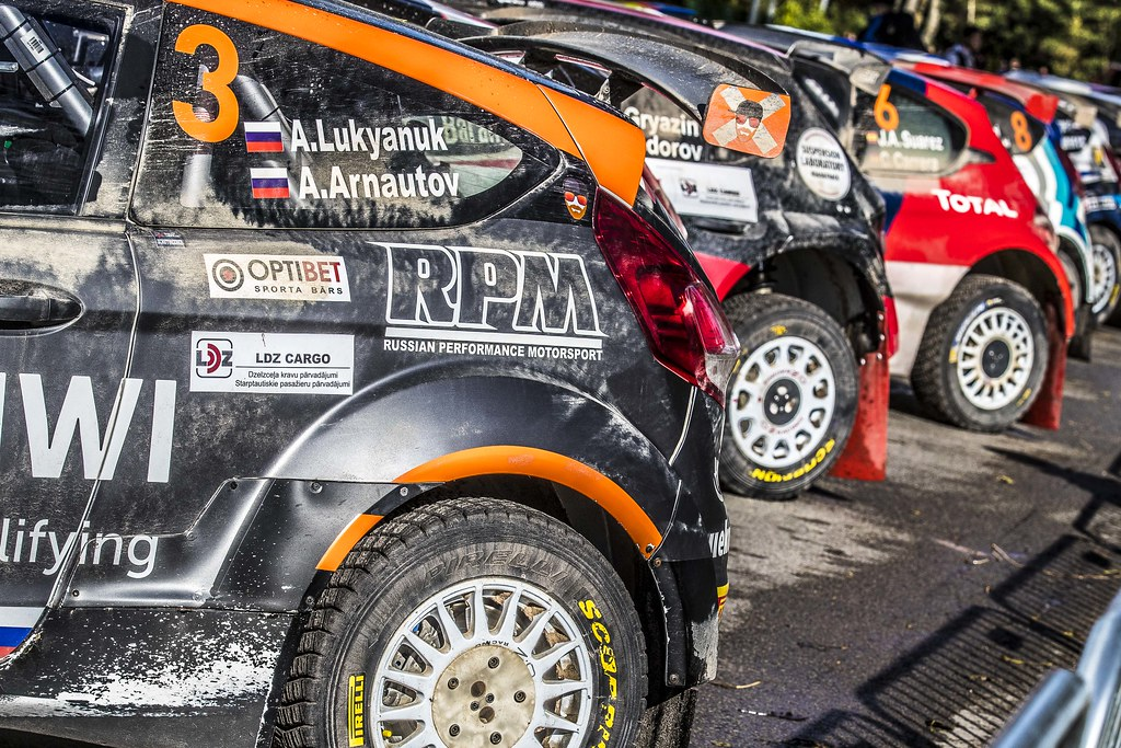 Ambiance during the 2017 European Rally Championship ERC Liepaja rally,  from october 6 to 8, at Liepaja, Lettonie - Photo Gregory Lenormand / DPPI