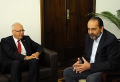 19/10/2017. Prefeito Alexandre Kalil recebe embaixador da Alemanha, Dr. Georg Wistschel. Fotos: Rodrigo Clemente/PBH