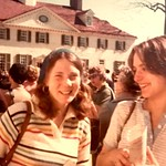 1977 AHS class trip I think With Julie Glotfelty Lersten and Sara Warman Nelson