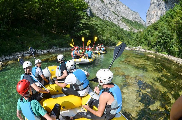 The best rafting tour in Bosnia