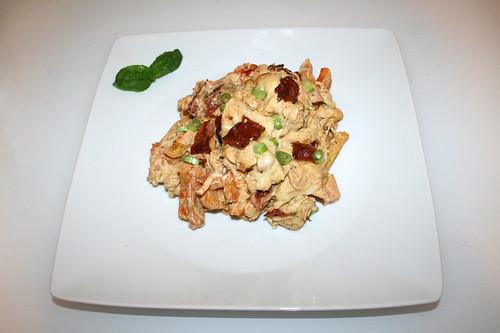 54 - Chicken french fries casserole - Served / Hähnchen Pommes Auflauf - Serviert