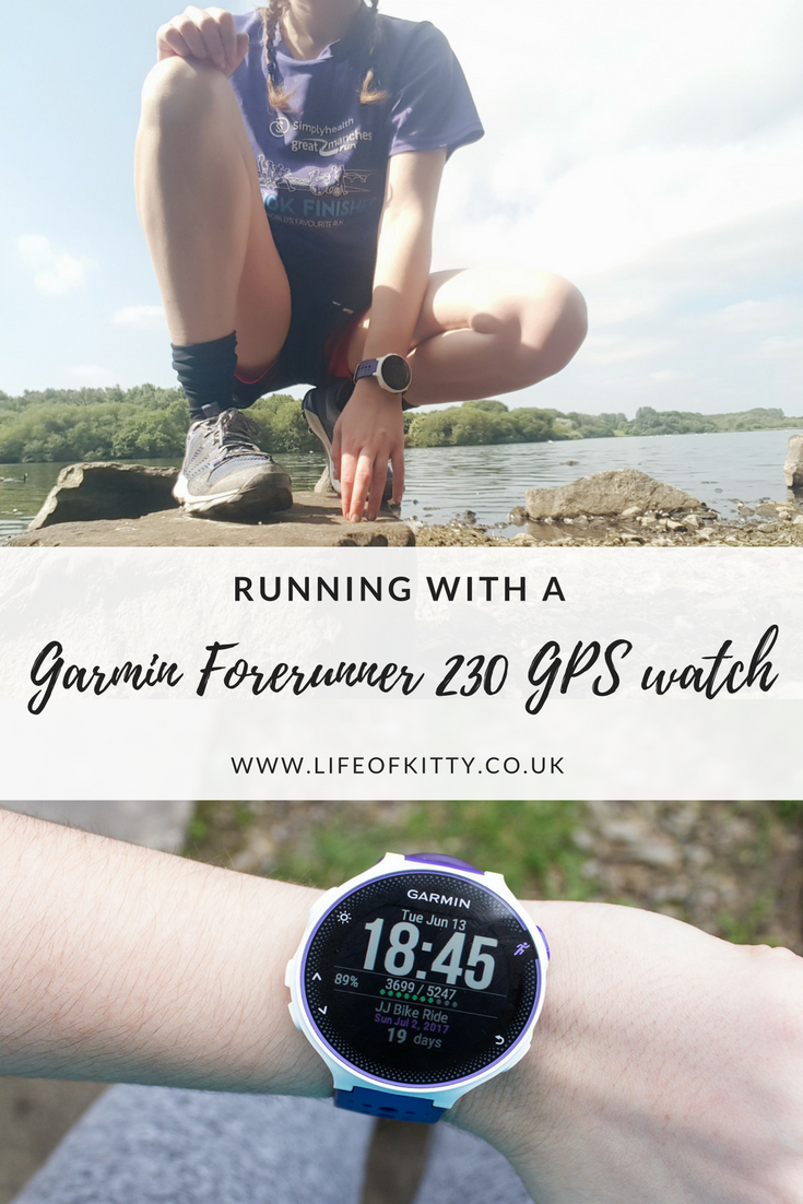 Running With A Garmin Forerunner 230 GPS Watch // REVIEW // Life of Kitty