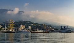 Yalta in October. Crimea.