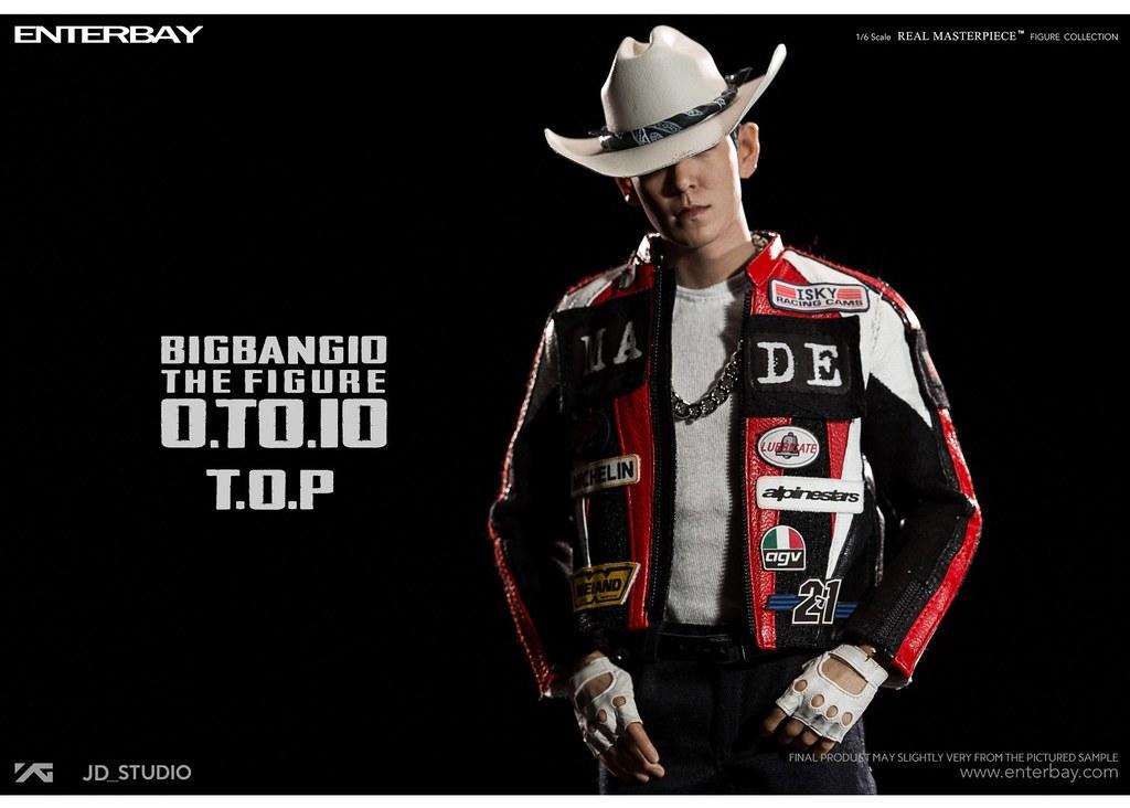 ENTERBAY – BIGBANG 10 週年紀念系列【T.O.P】BANG BANG BANG Ver. 1/6 比例人偶作品