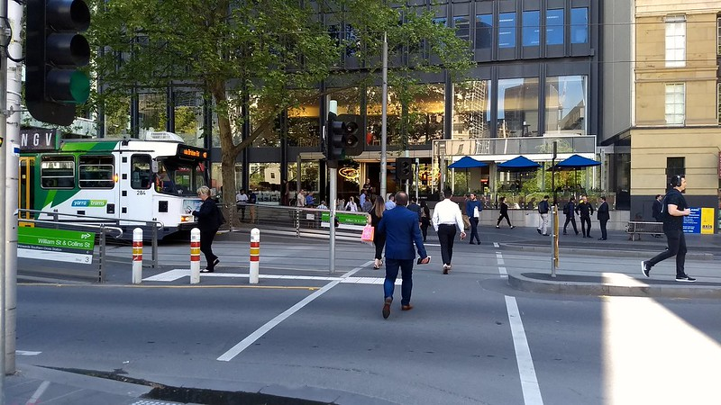 Collins St near William St