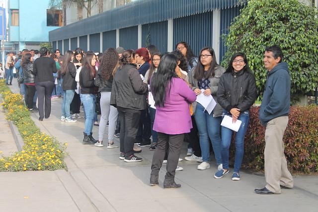 Universidad de San Martín de Porres realizó el Proceso de Admisión por la Modalidad de Primera Alternativa