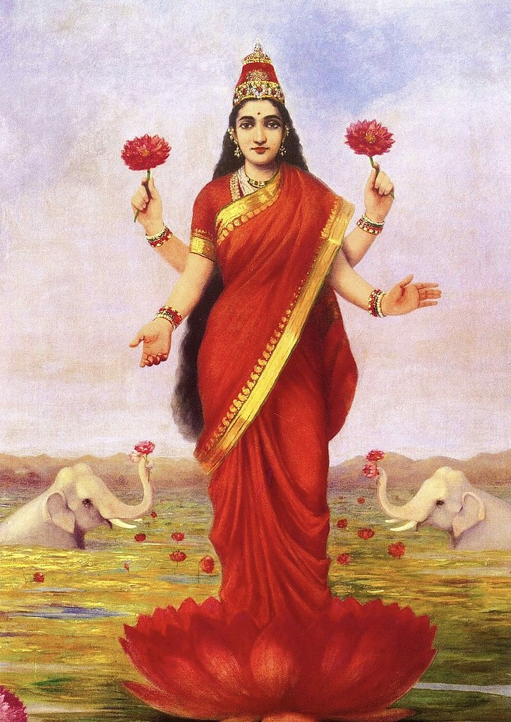 846px-Raja_Ravi_Varma,_Goddess_Lakshmi,_1896