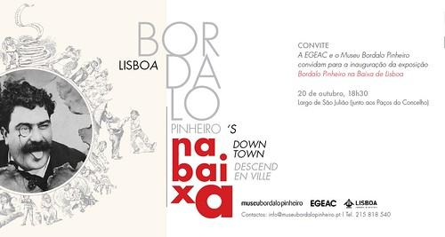 convite Bordalo na Baixa 20 out