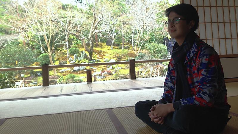 3 Hari Keliling Kyoto - Tenryuji Zen Temple 2