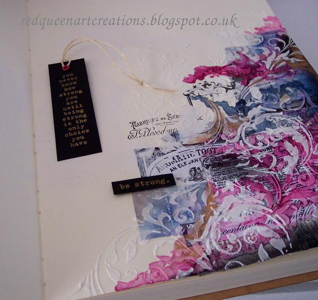 flourish art journal pages 1