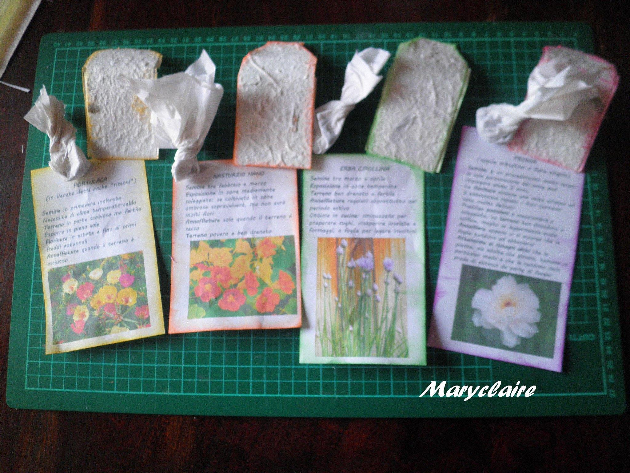 foglietto esplicativo fiori