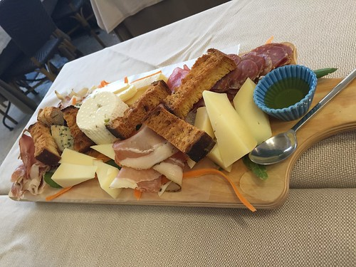 Epic meat & cheese plate