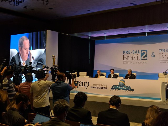 """Durante coletiva de imprensa Décio Oddone, diretor geral da ANP,  disse que """"os resultados superam em muito as nossas expectativas"""" - Créditos: Twitter/ ANP"""