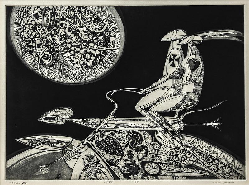 Joseph Mugnaini - Baroque,  1968