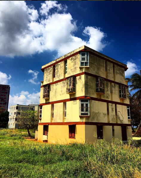 Social housing project in Camilo Cienfuegos, Havana. photo / Alex Mecattaf (M.Arch. '18)