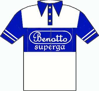 Benotto Superga - Giro  d'Italia 1950