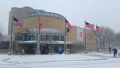 New York Hall of Science In The Snow