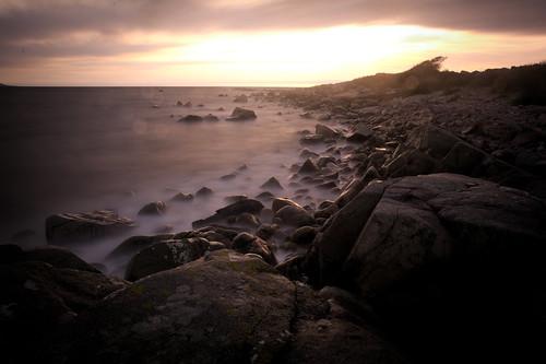 galway bay ireland barna coast sunset longexposure sky clouds sea rocks nikond7100 sigma1750 f28