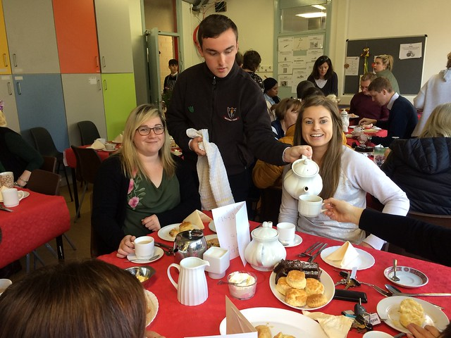 LCA2 Coffee Morning for Cahercalla Hospice - October 2017