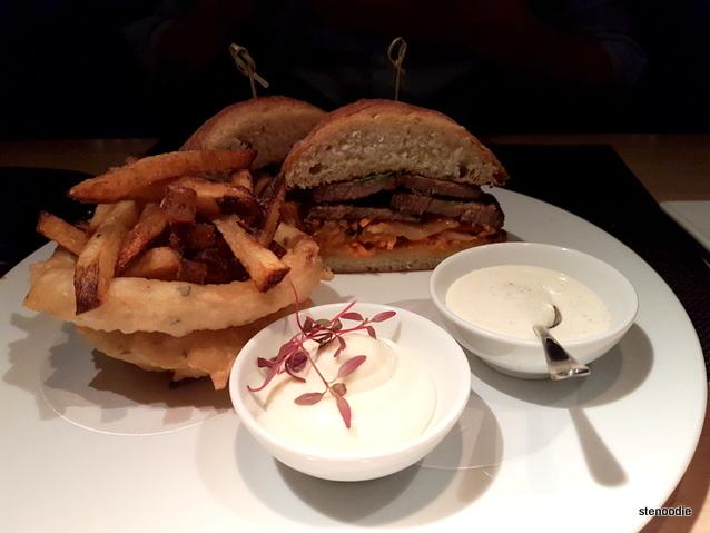 72 Hours Sous Vide Beef Brisket Sandwich
