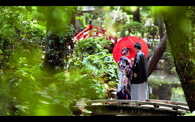 Shukkeien Garden, Hiroshima, 縮景園, 広島