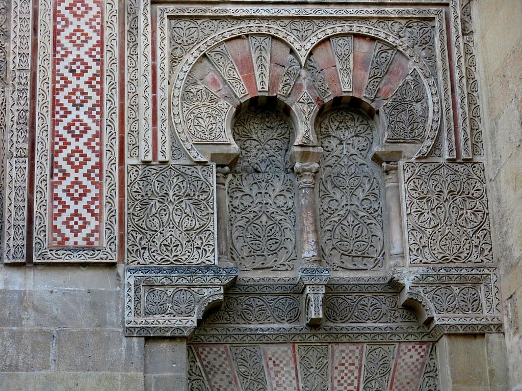 detalles de la Mezquita de Córdoba